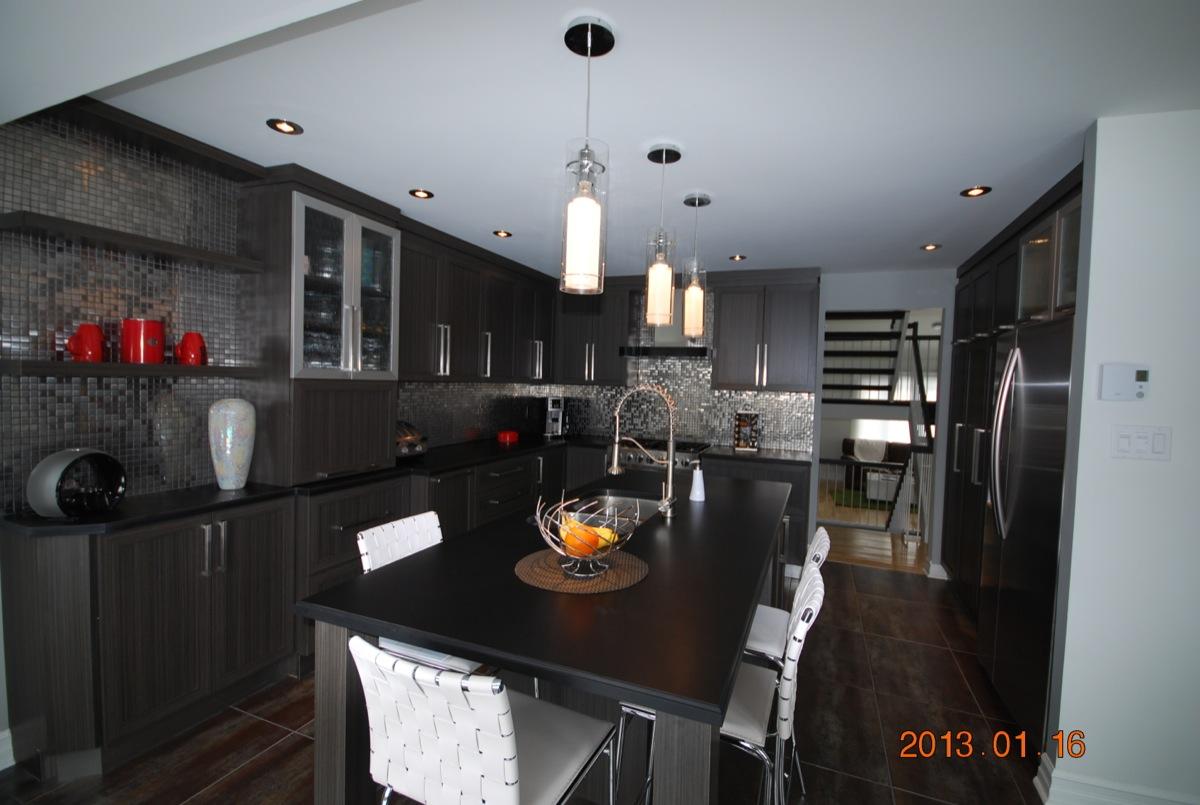 Design interieur salle a manger noir laurentides for Designer interieur laval